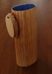 Etuis lunettes en bois